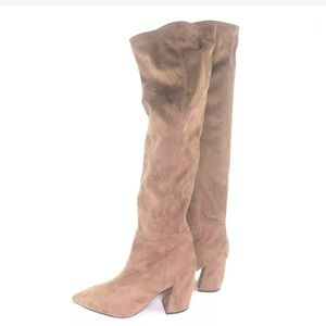 NEW! Jeffrey Campbell Slouch Over the Knee Boots